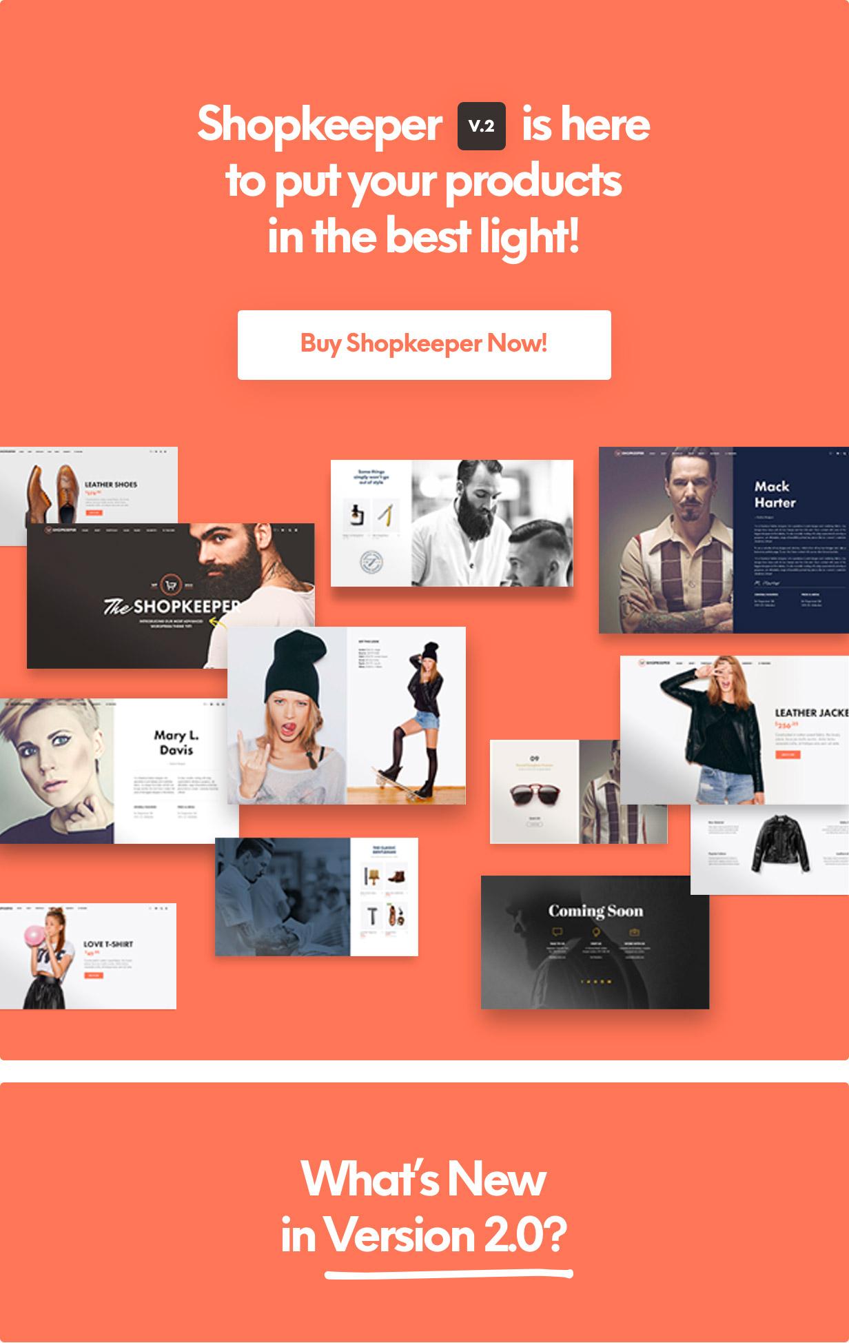 Shopkeeper - eCommerce WP Theme for WooCommerce - 4