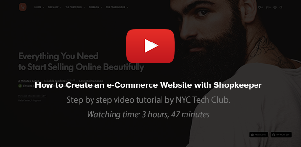 Shopkeeper - eCommerce WP Theme for WooCommerce - 45